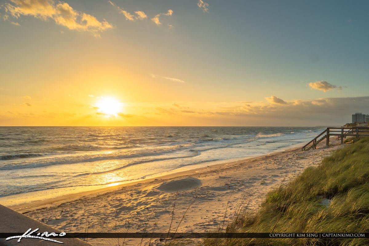 Ocean Sunrise Jaycee Park Vero Beach Florida