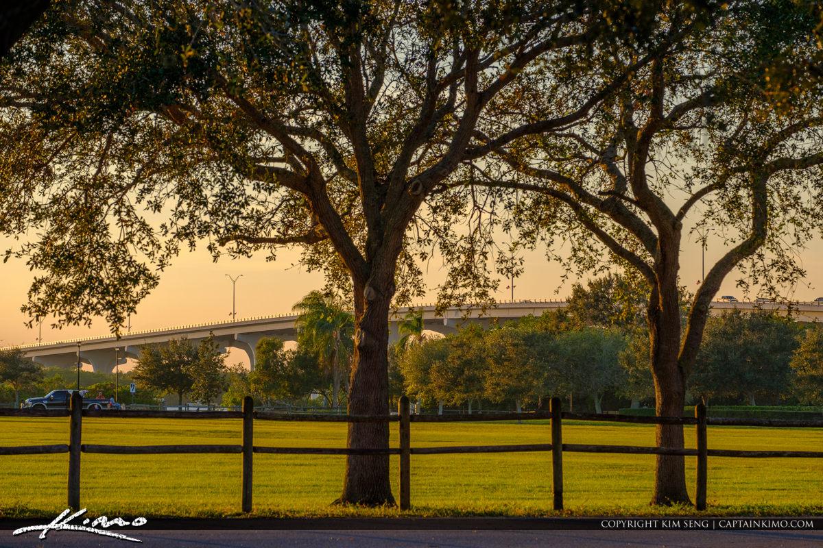 Riverside Park Marrill Barber Bridge Vero Beach Florida