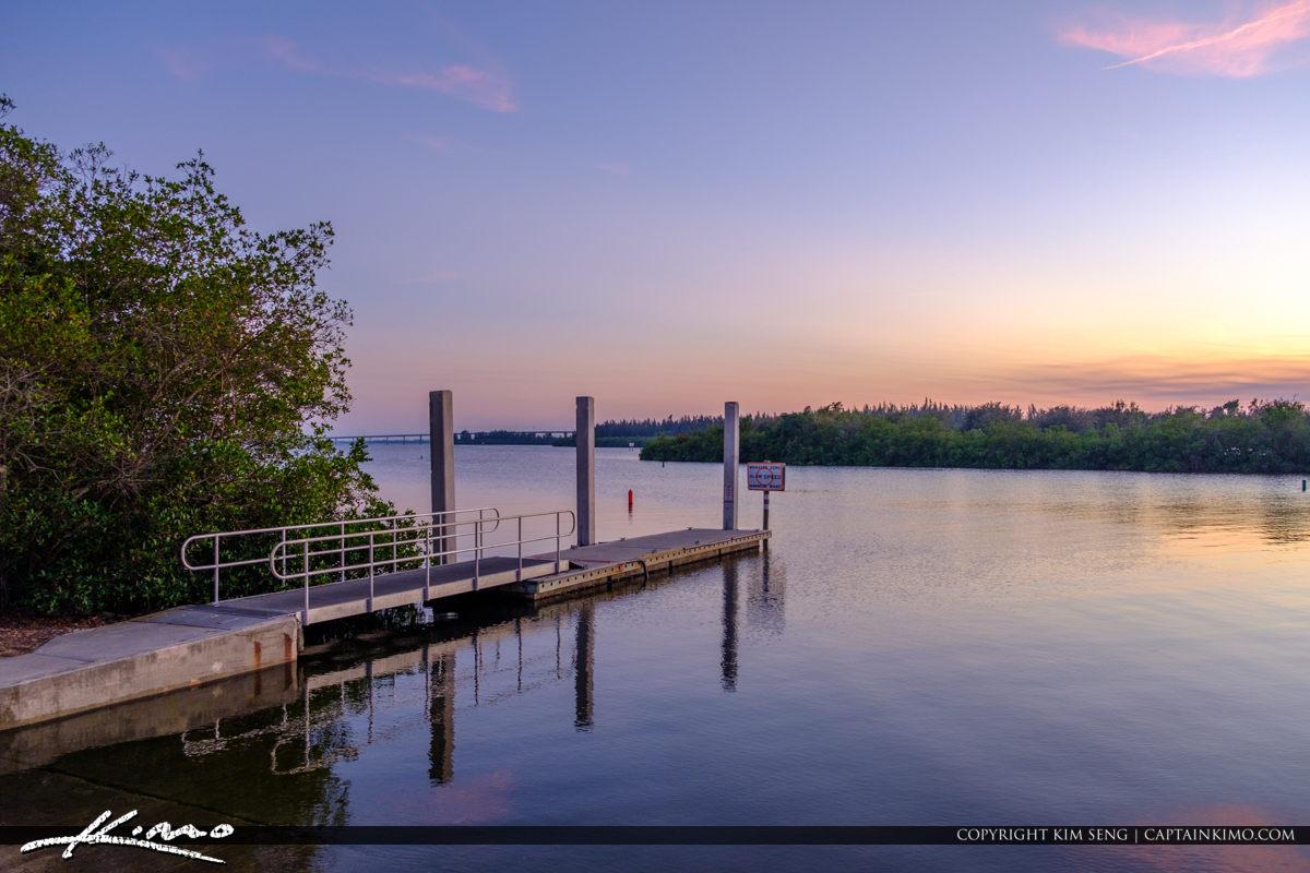 Veterans Memorial Park Vero Beach Florida Boat Ramp