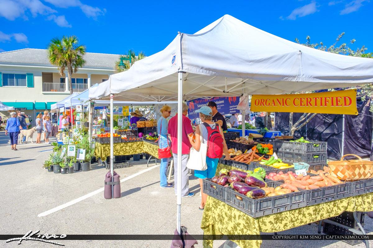 Green Market Vero Beach Florida Organic Certified