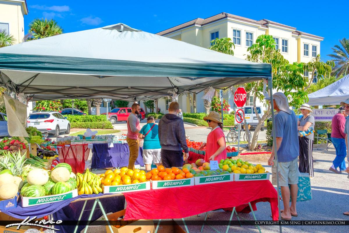 Green Market Vero Beach Florida Fruits