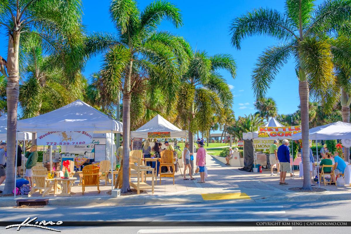 Green Market Vero Beach Florida Street Vendor