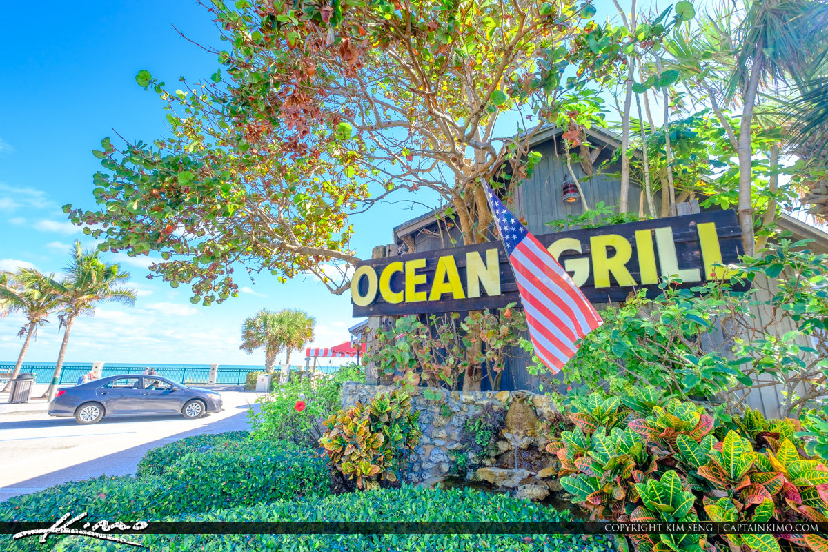 Sexton Plaza Beach Vero Beach Florida Ocean Grill