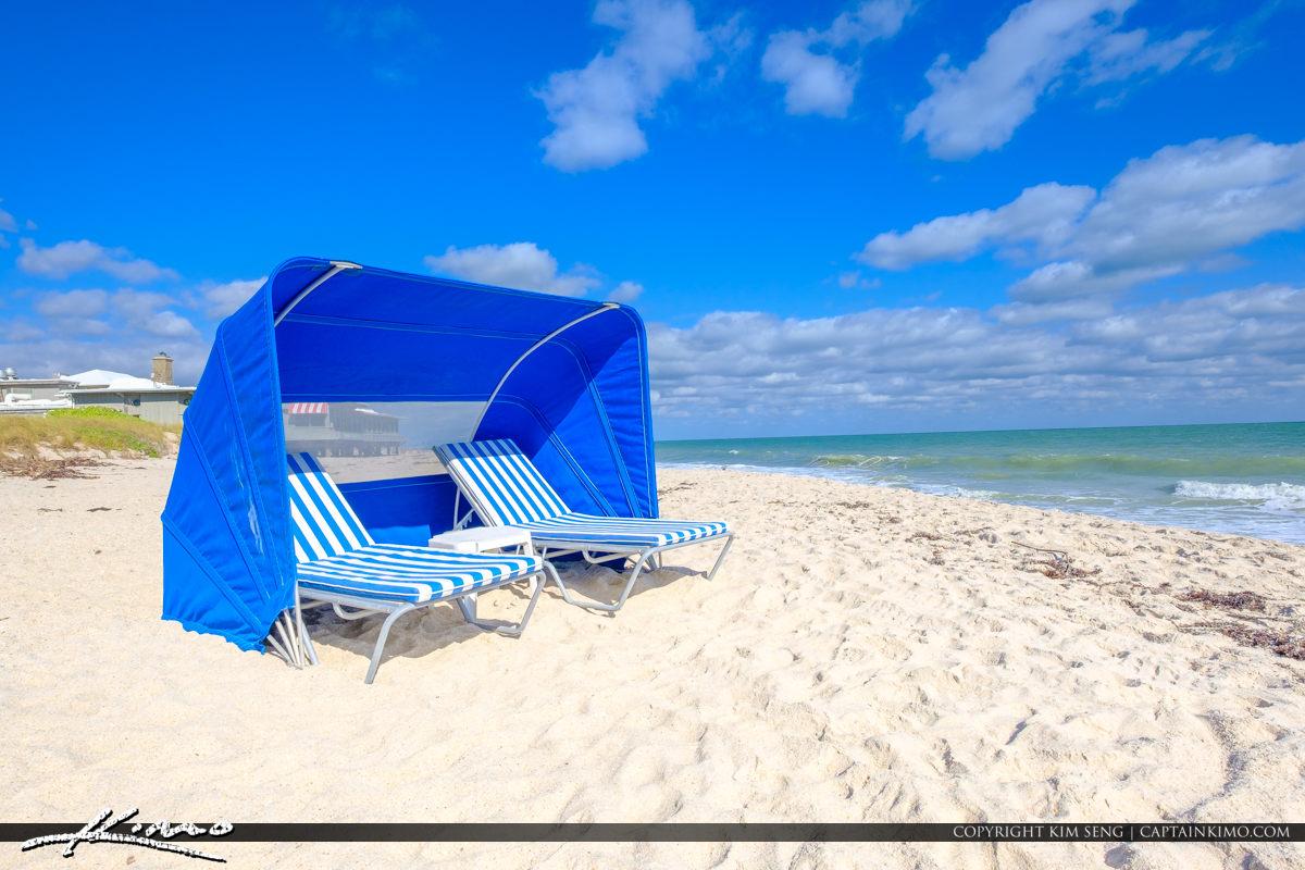 Sexton Plaza Beach Vero Beach Florida Beach Chair