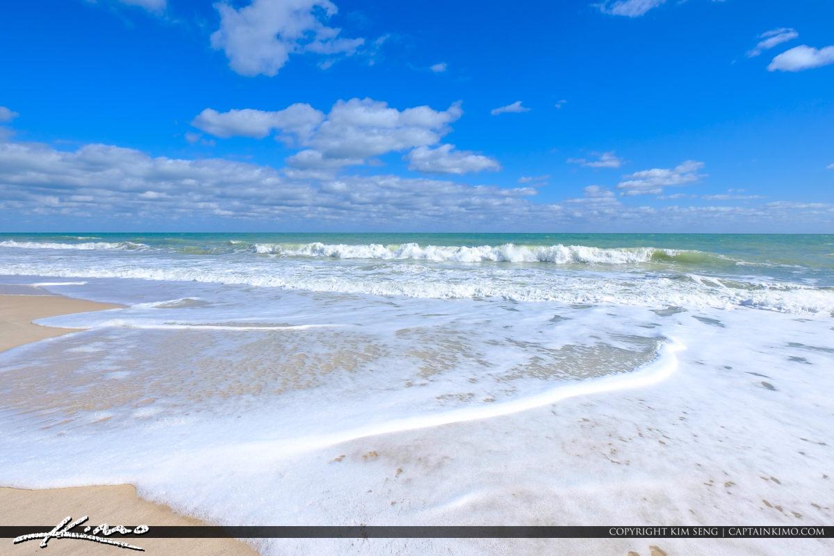 Sexton Plaza Beach Vero Beach Florida Blue Water