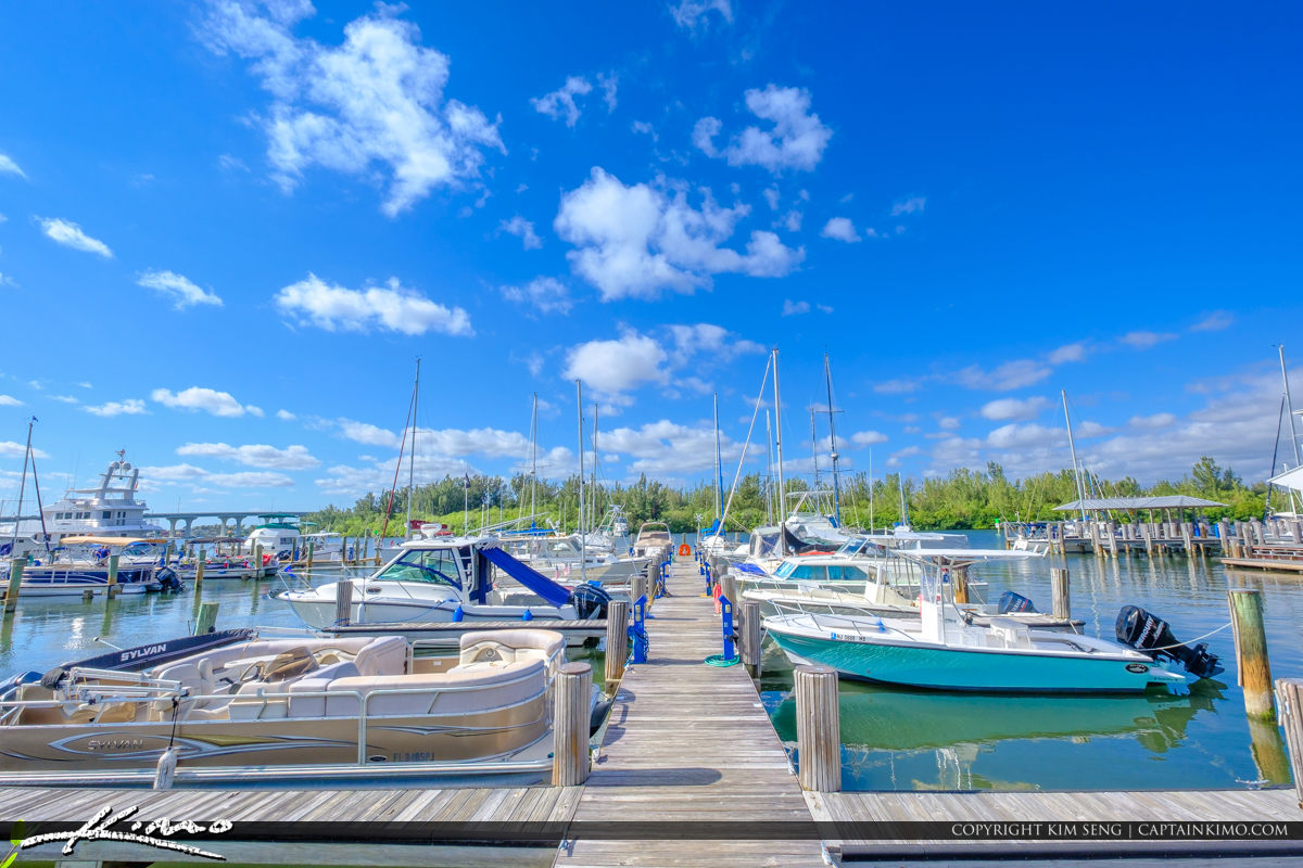 Boats Docked at Beach Vero Beach City Marina Vero Beach Florida