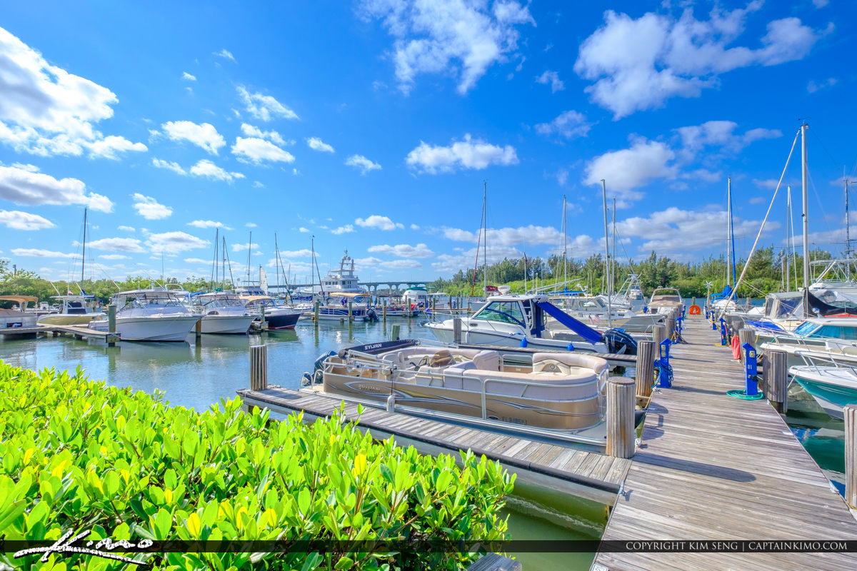 Pontoon Vero Beach City Marina Vero Beach Florida