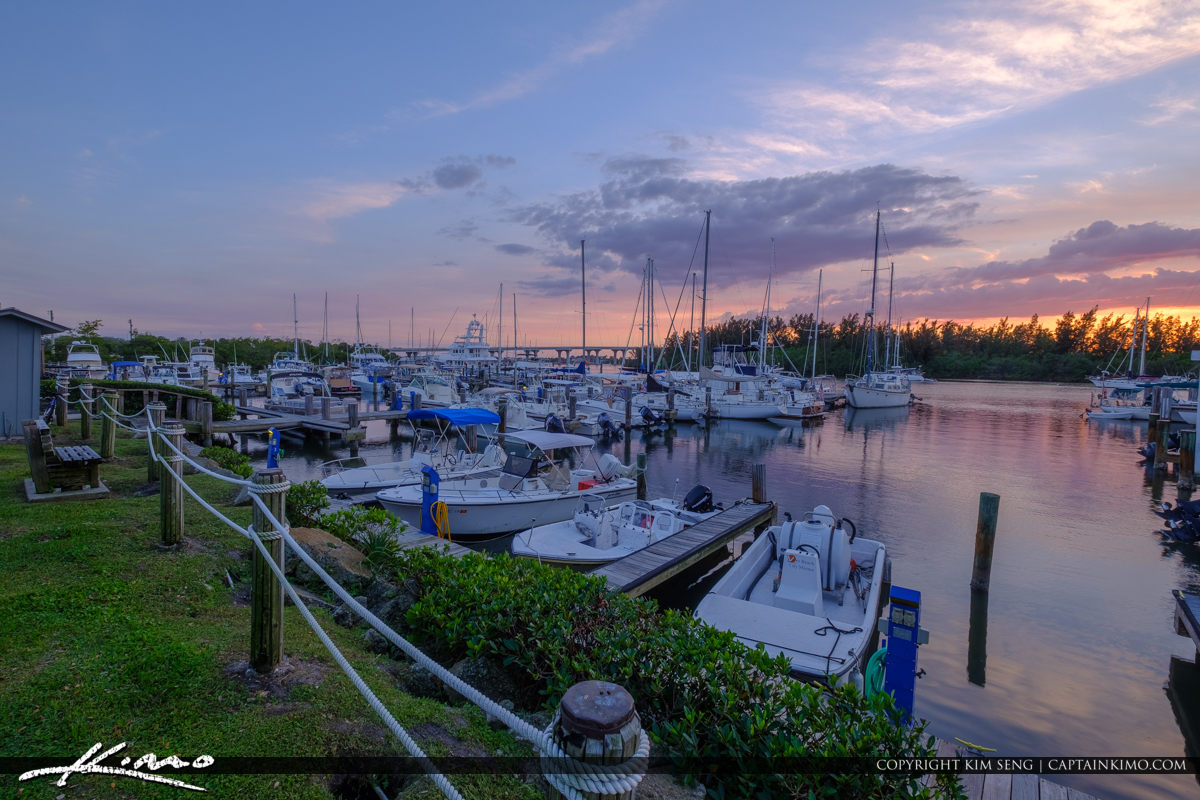Sunset Marina Vero Beach City Marina Vero Beach Florida