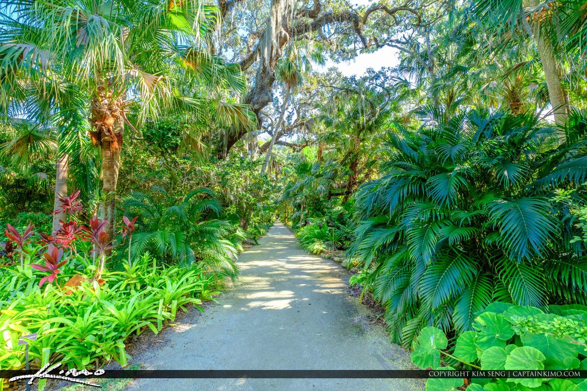 Path McKee Botanical Garden Vero Beach Florida