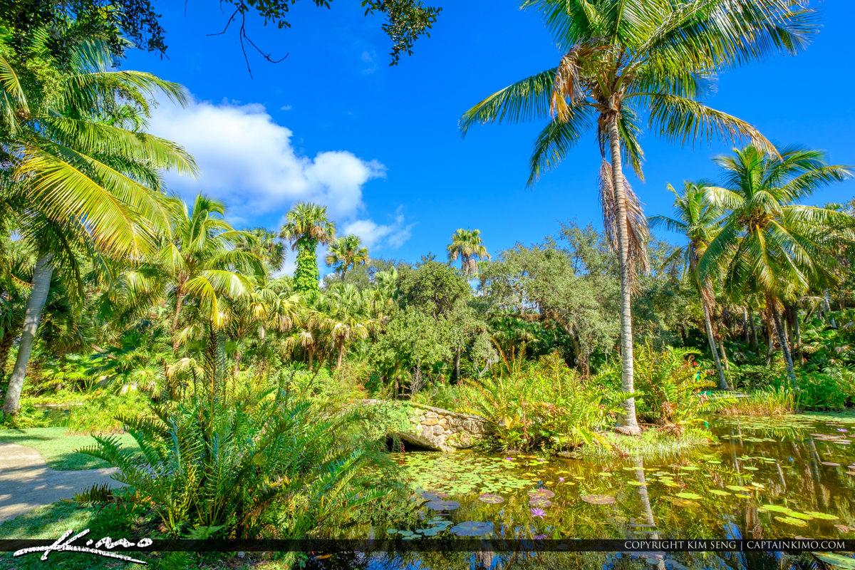 Green Blue McKee Botanical Garden Vero Beach Florida