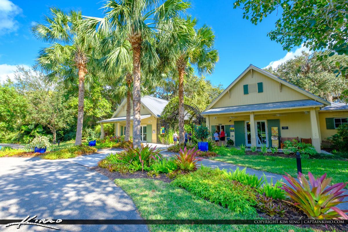 Entrance McKee Botanical Garden Vero Beach Florida