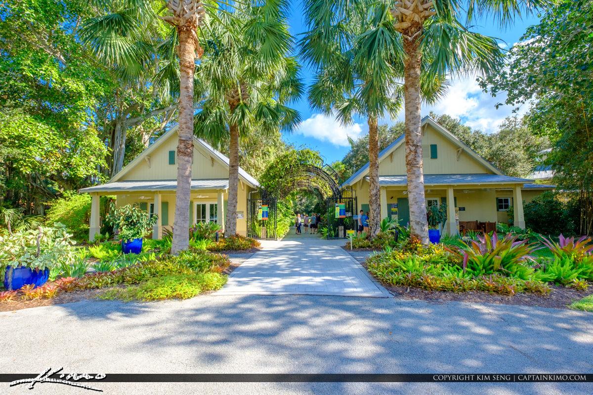 Front Entrance McKee Botanical Garden Vero Beach Florida