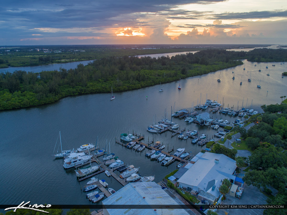 Marina Sunset Vero Beach Florida