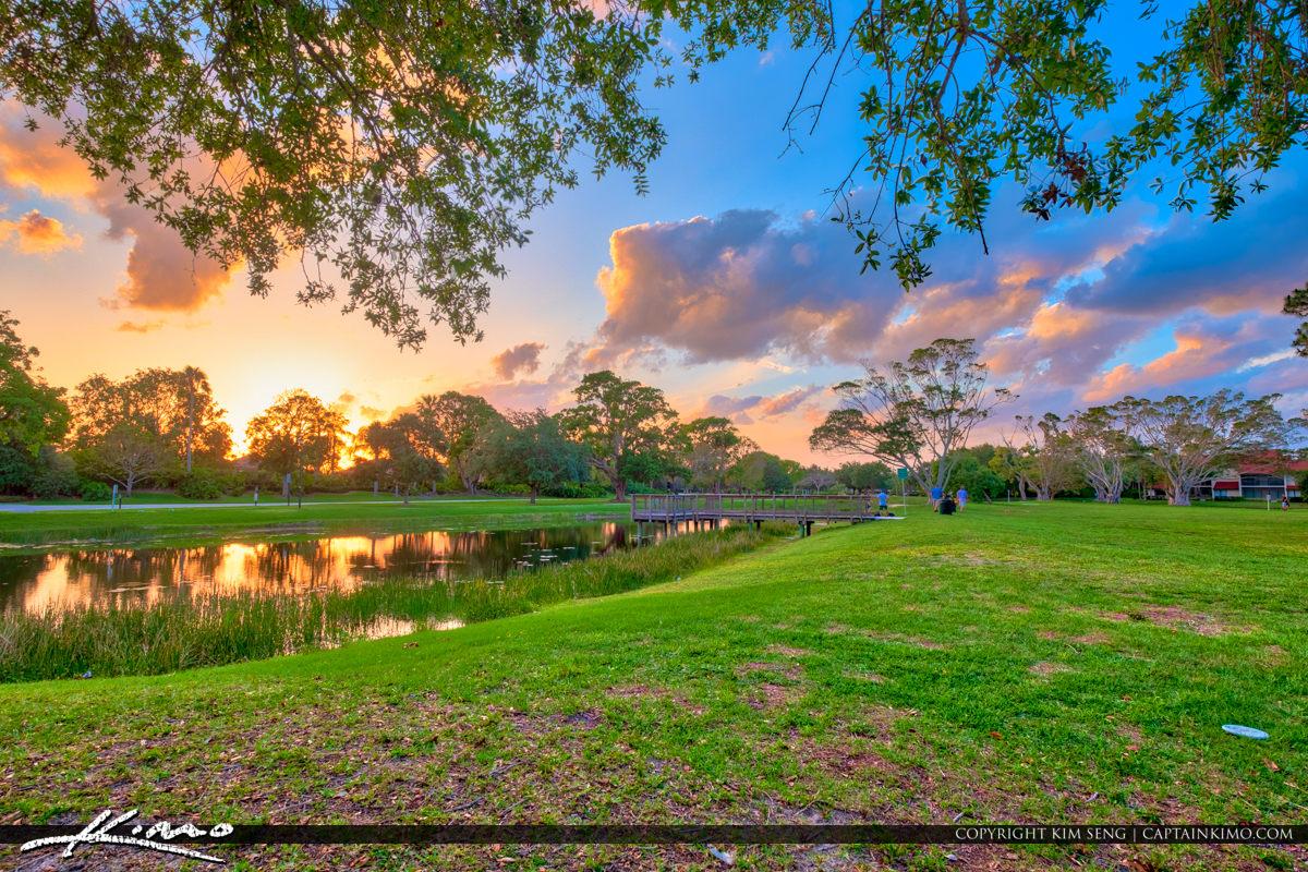 PGA National Frisbee Golf Park Palm Beach Gardens
