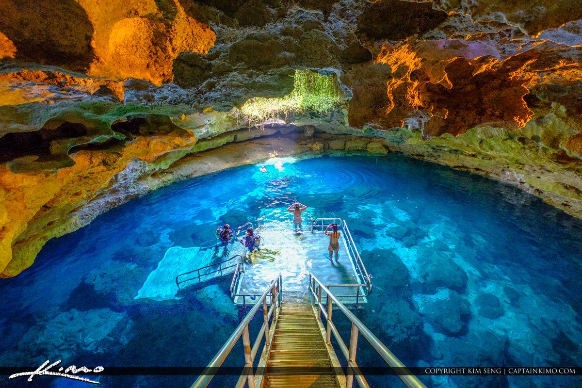 Devils Den Williston Florida Levy County Florida Spring Cave Vie