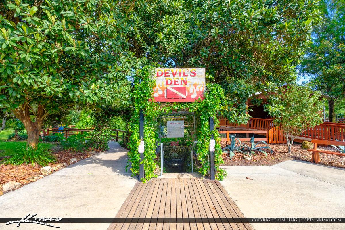 Devils Den Williston Florida Levy County Florida Spring Entrance
