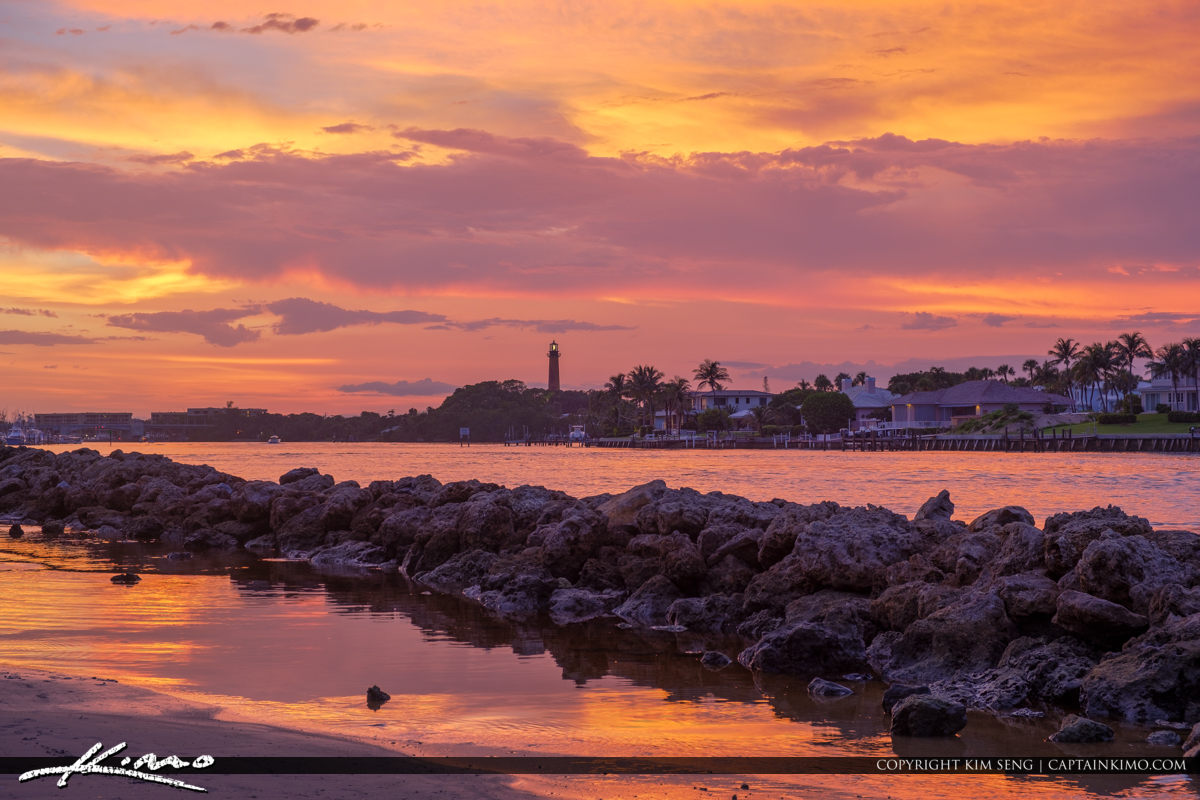 Jupiter Lighthouse Firday Sunset HDR by EasyHDR Software