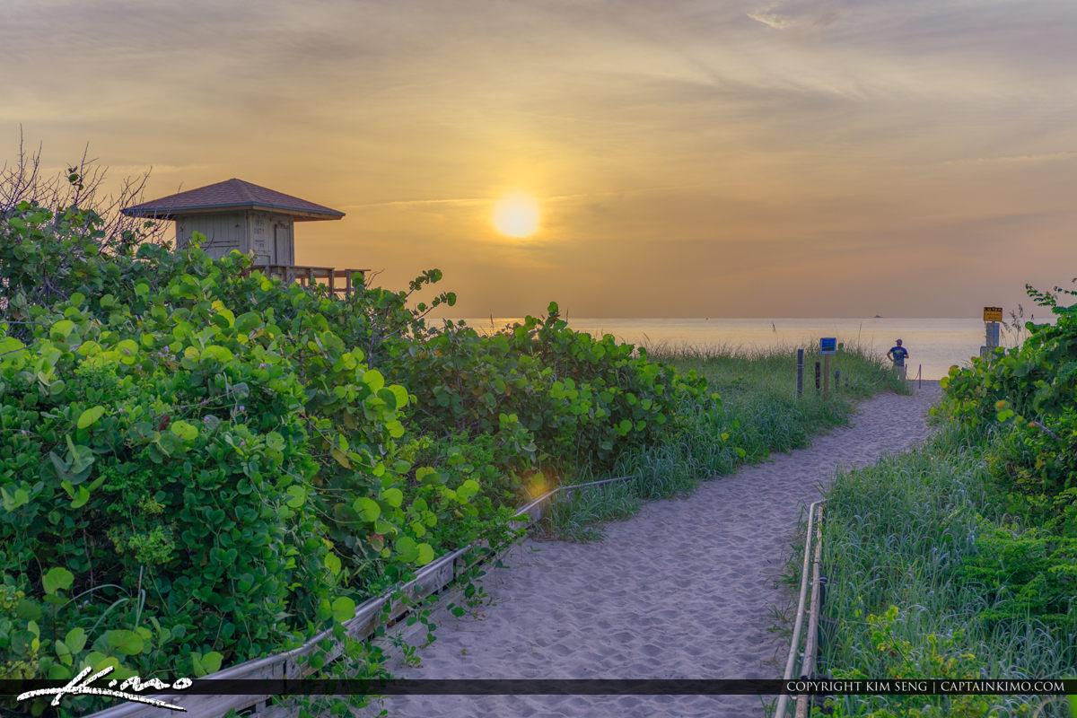 Sunrise Singer Island Ocean Reef Park Riviera Beach
