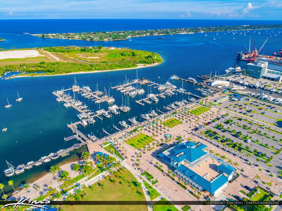 Rivier Beach Marina Florida Palm Beach Inlet Port of Palm Beach