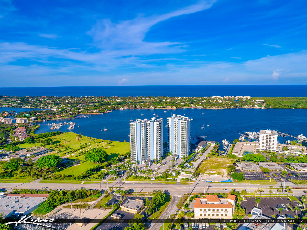 North Palm Beach Condo Water Club Lake Worth Lagoon