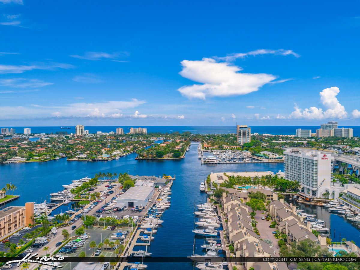 Fort Lauderdale Waterway and Beach