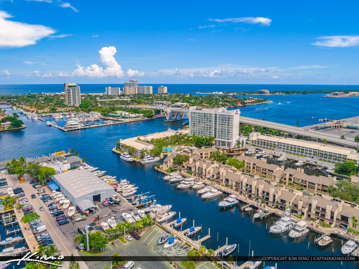 17th Street Bridge Waterway Fort Lauderdale