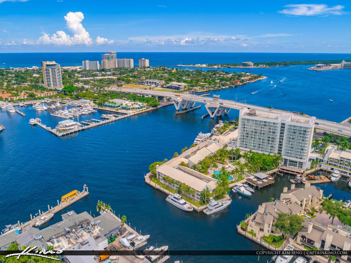 Waterway Fort Lauderdale 17th Street Bridge