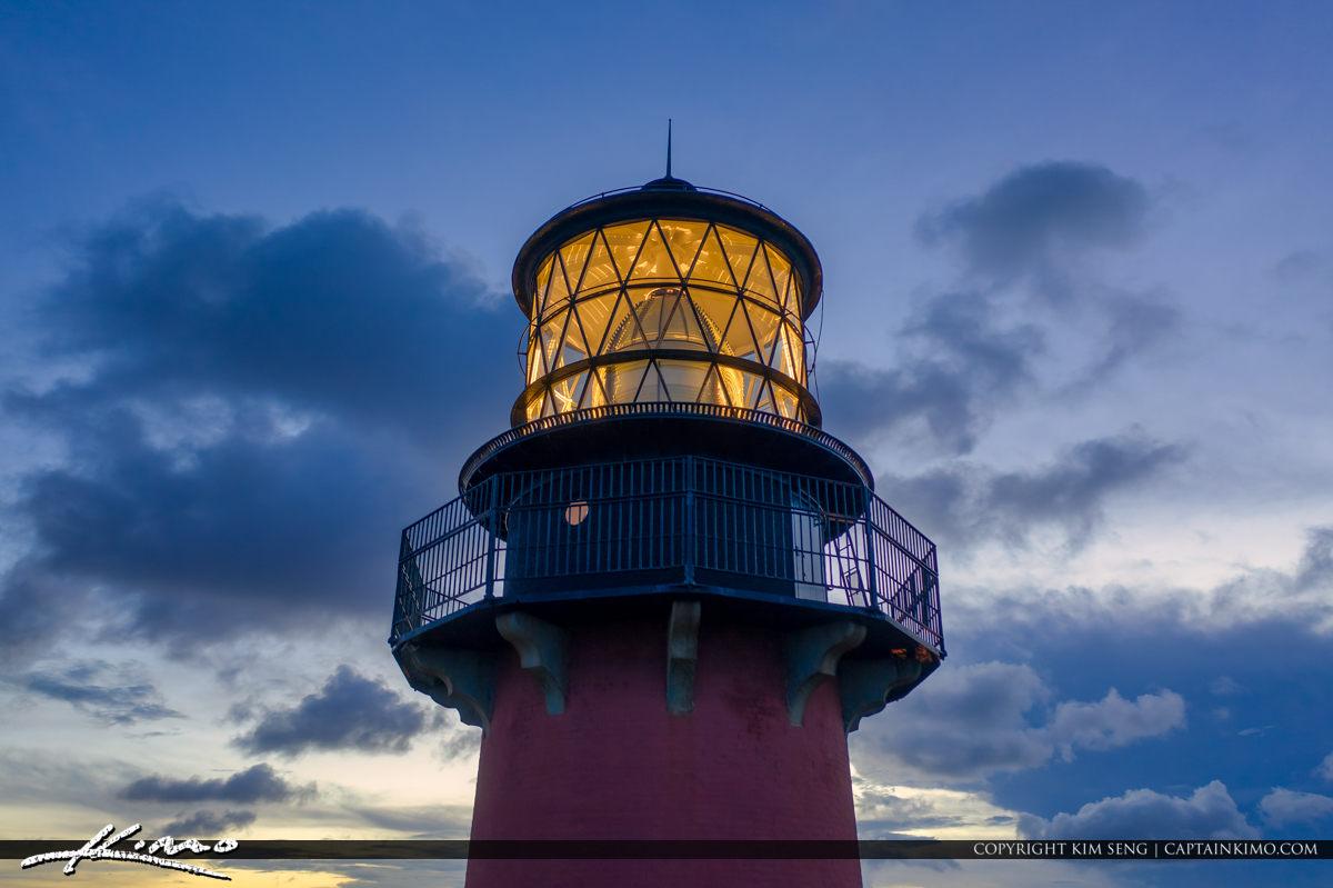 Jupiter Florida Looking Up at the Lighthouse with DJI Mavic Pro