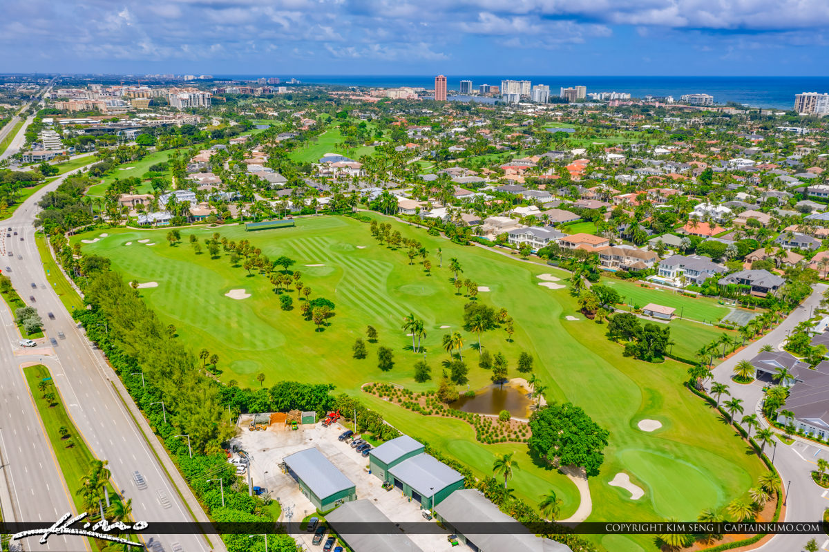 Boca Raton Florida Golf Course