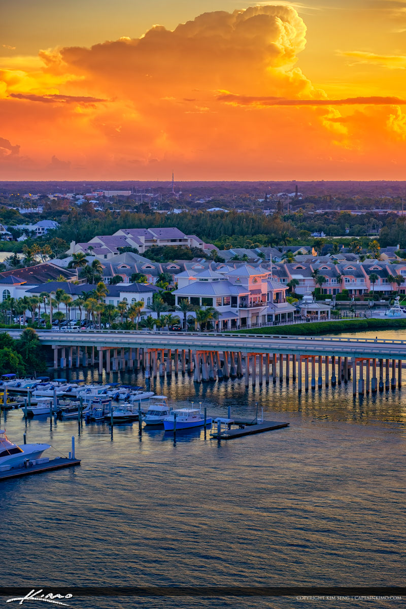Beautiful Colors Along the Waterway in Jupiter Florida 1000 North