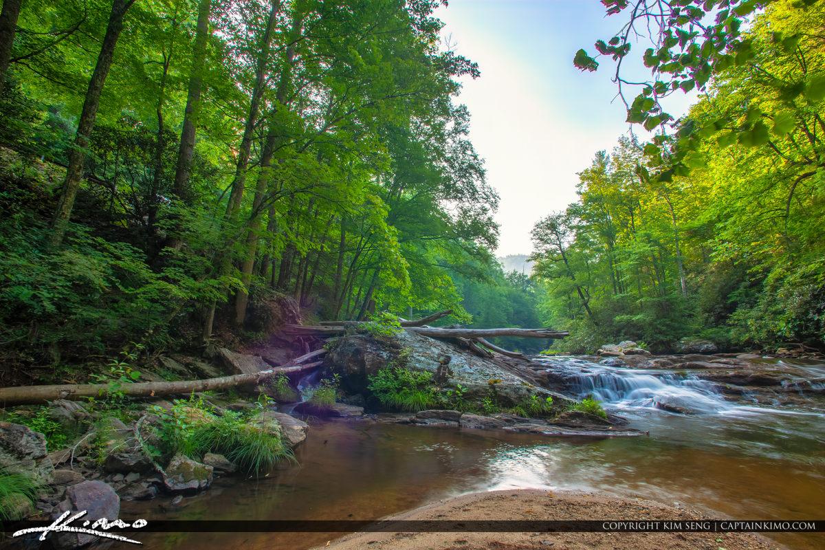 Cullasaja River Highlands North Carolina Blue Ridge Parkway Wate