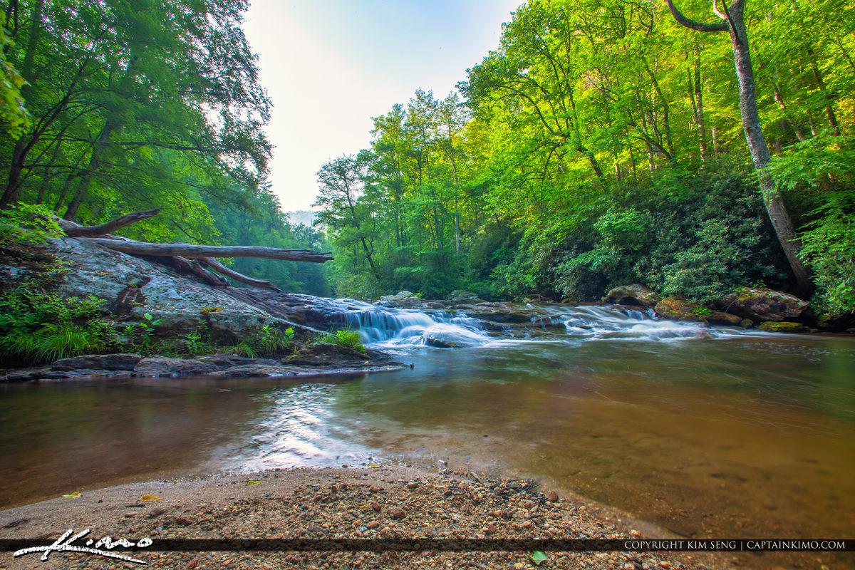 Cullasaja River Highlands North Carolina Blue Ridge Parkway Stre