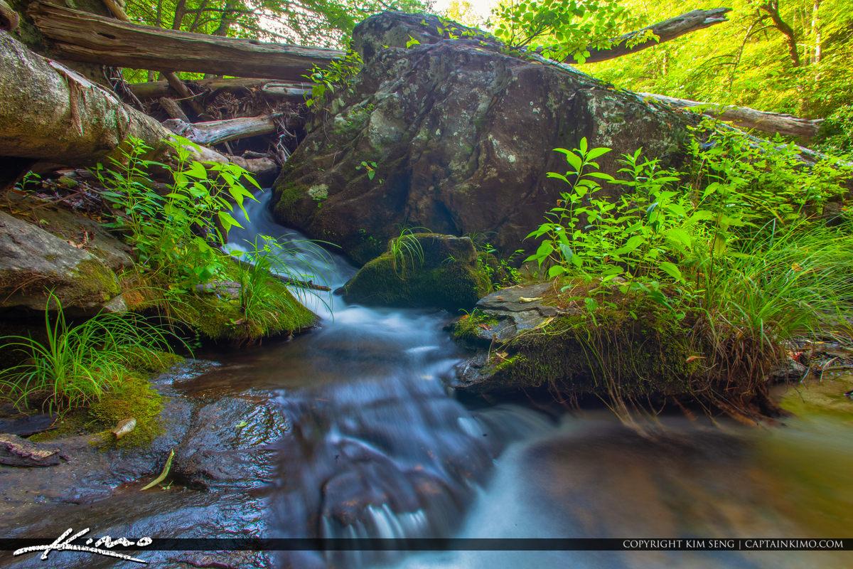Cullasaja River Highlands North Carolina Blue Ridge Parkway Cree