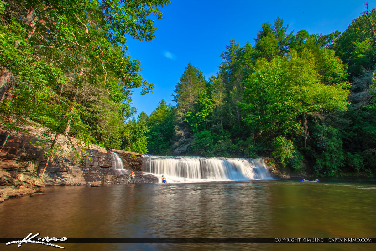 Dupont State Forest North Carolina Waterfall Hookers Waterfall i