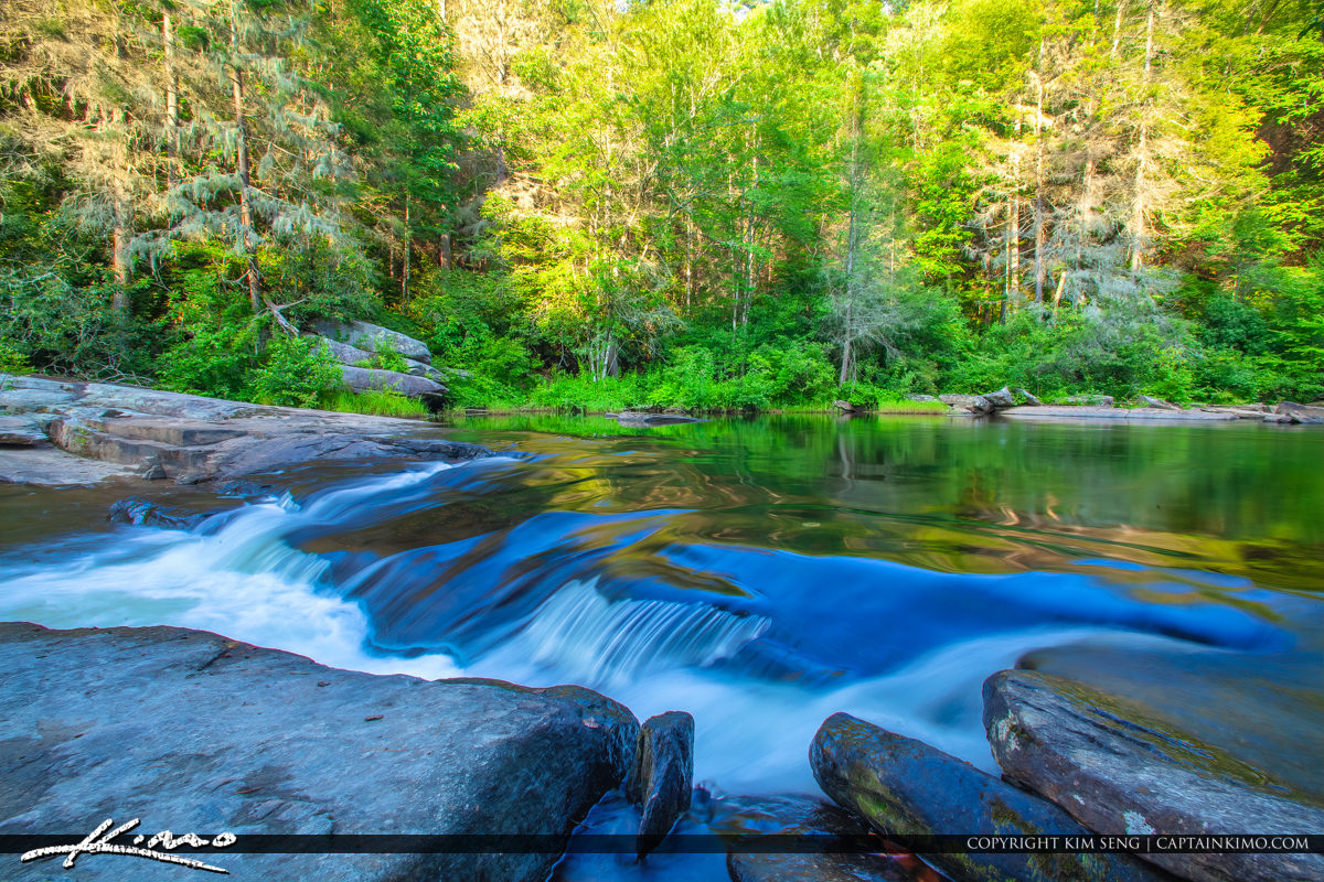 Dupont State Forest North Carolina Waterfall Little River Brevar