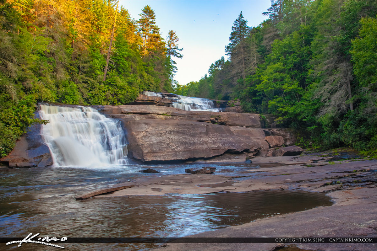 Dupont State Forest North Carolina Triple Falls Triples Waterfal