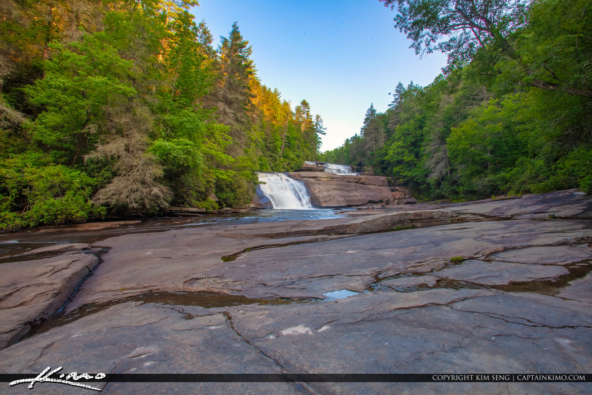 Dupont State Forest North Carolina Triple Falls Wide Little Rive