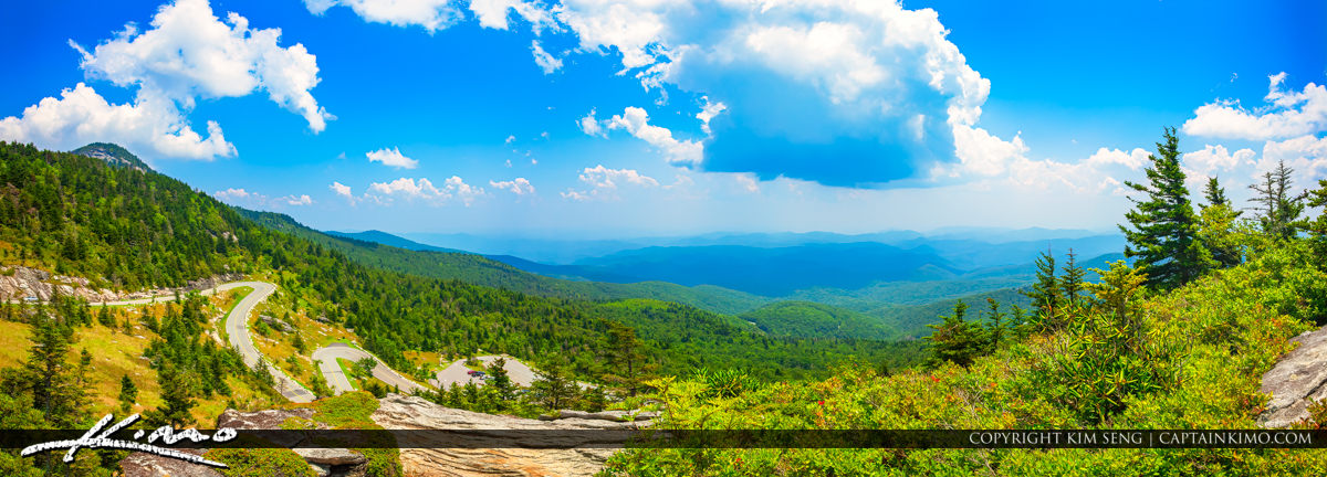 Grandfather Mountain State Park Banner Elk North Carolina Panora