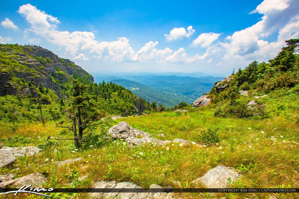 Grandfather Mountain State Park Banner Elk North Carolina View o