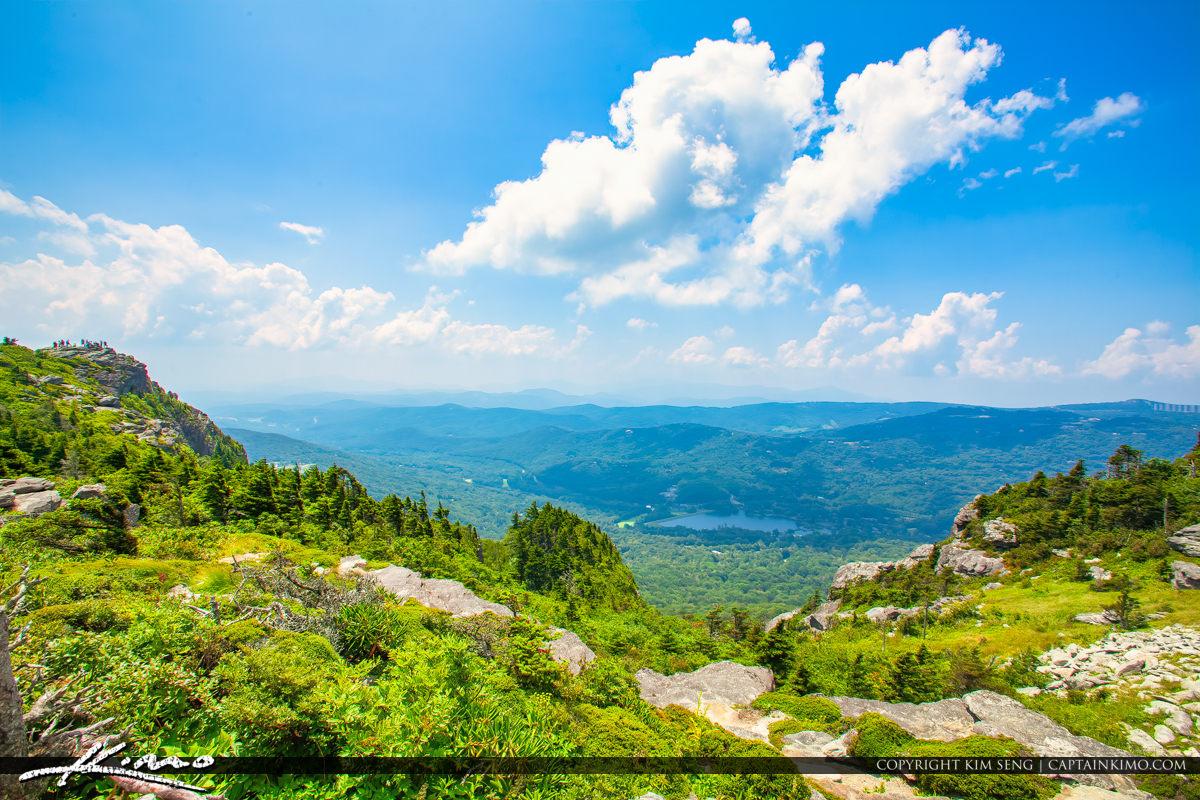Grandfather Mountain State Park Banner Elk North Carolina Lake V