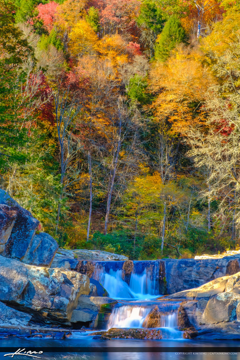 Linville Falls Pisgah National Forest Trail Fall Colors
