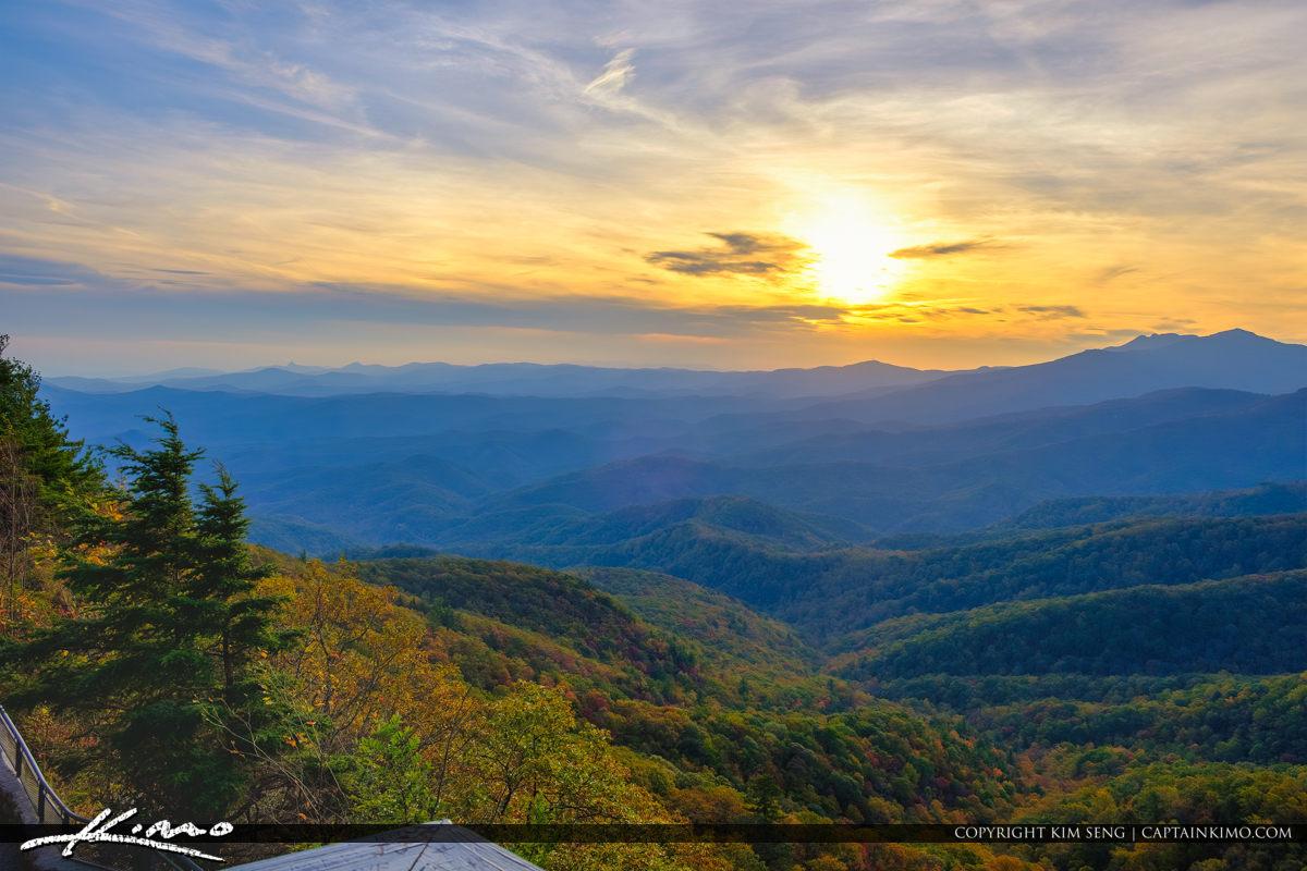 The Blowing Rock North Carolina Sunset