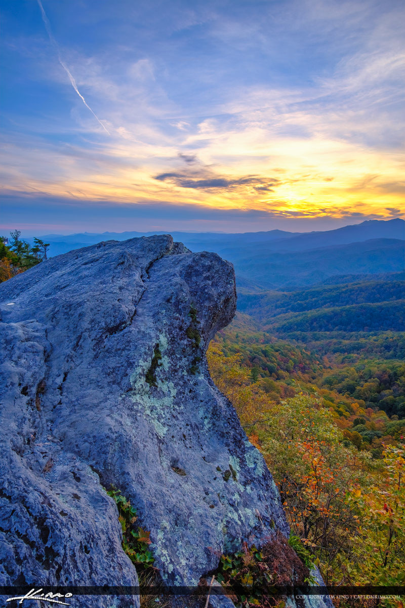 The Blowing Rock North Carolina Upclose Mountain