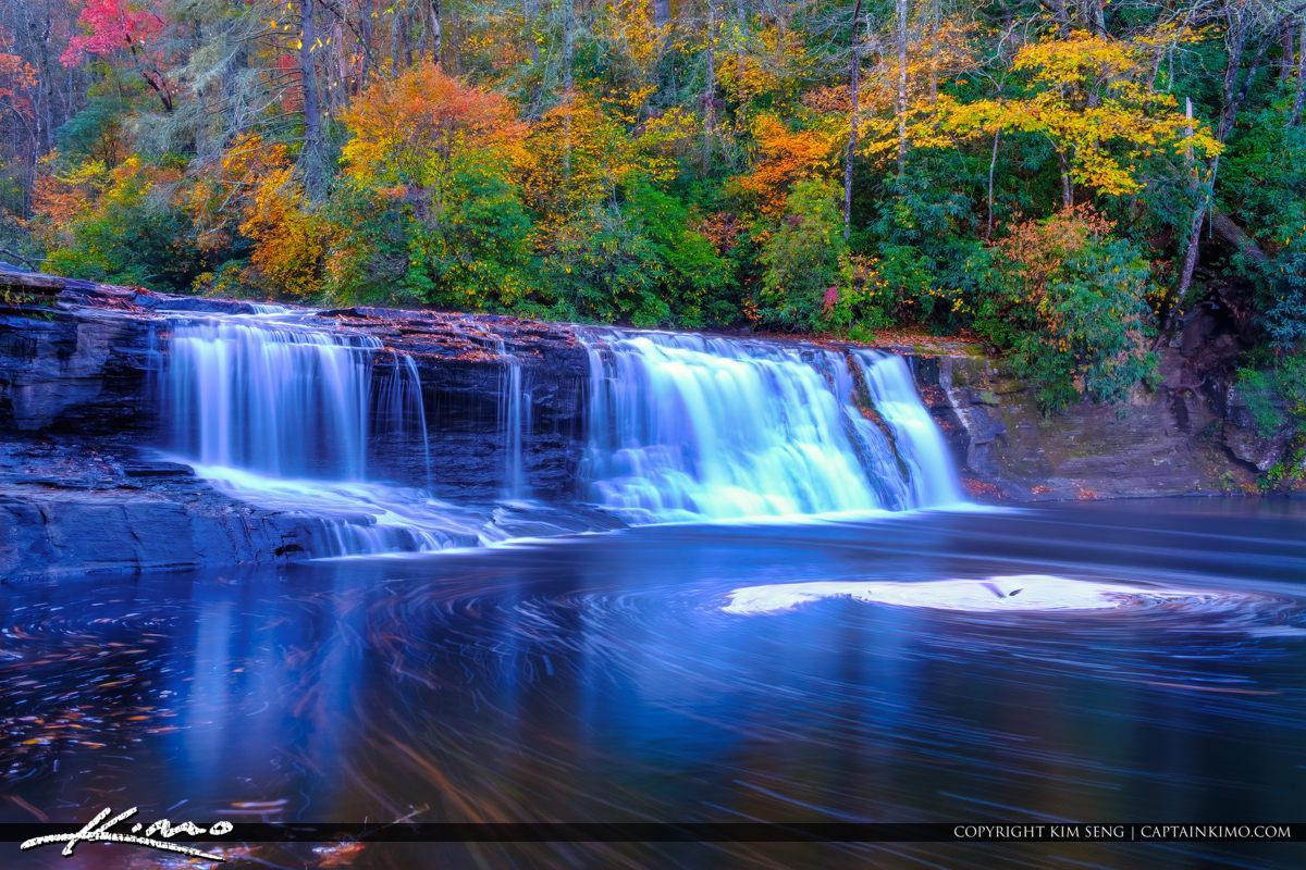 Dupont State Forest North Carolina Slow Shutter Hooker Falls