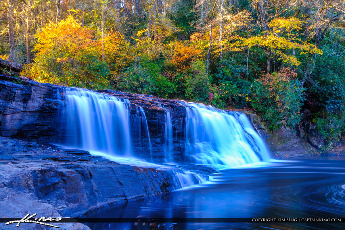 Dupont State Forest North Carolina Long Exposure River