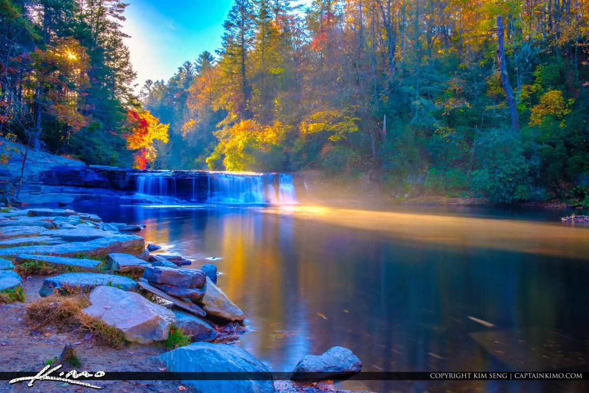 Dupont State Forest North Carolina Morning Light Brevard