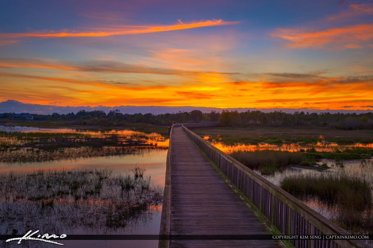 Wellington Sunrise at the Preserve in Palm Beach County