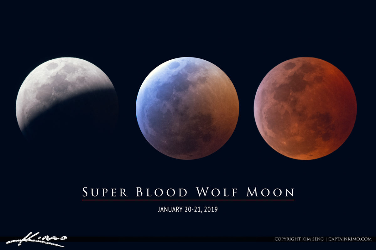Super Blood Wolf Moon January 2019