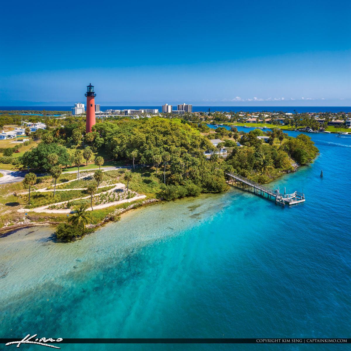 Jupiter Lighthouse Bluewater Paradise