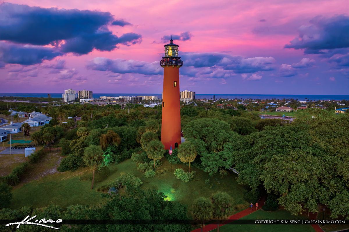 Jupiter Inlet Florida Sunset Tour People Watching the Sunset